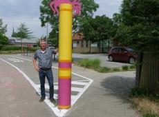 Dirk Van Roey aan Pimpernel met zone 30