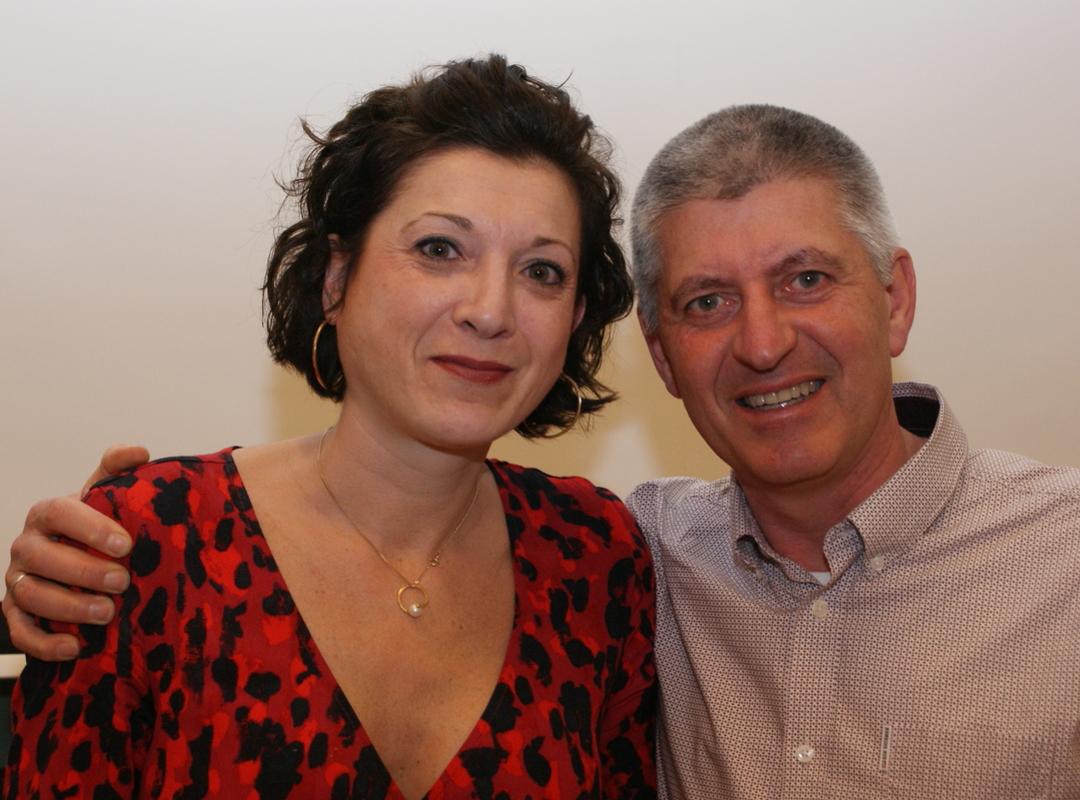 Sandra en Dirk