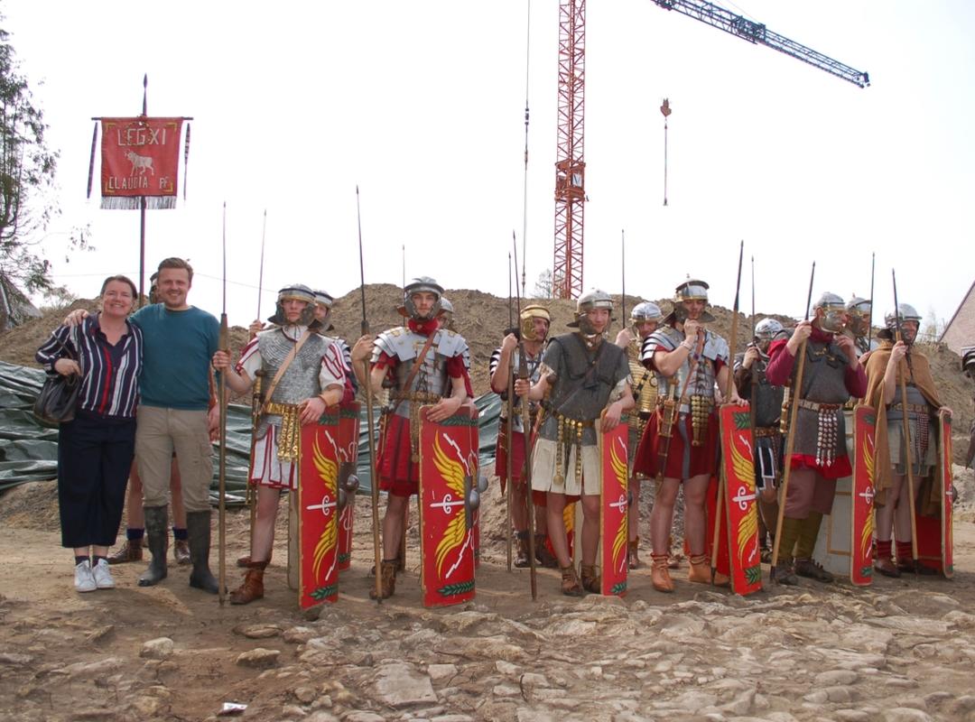 Veerle Geerinckx bij de Romeinen